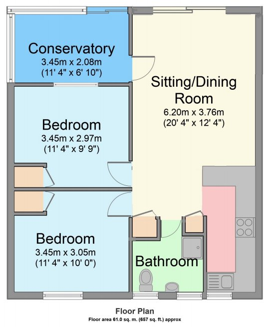 Floor Plan of lodge